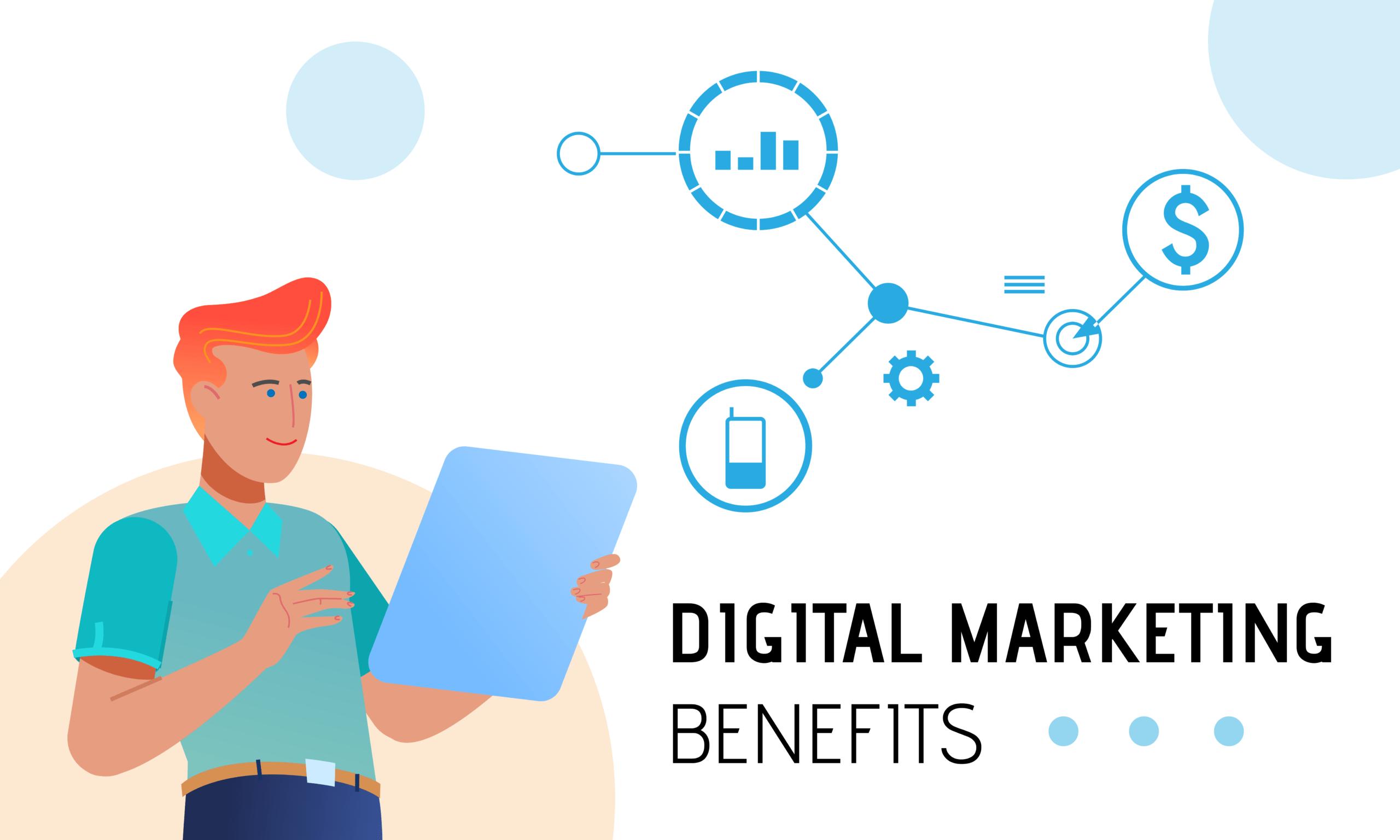 Digital Marketing Benefits Cover Photo