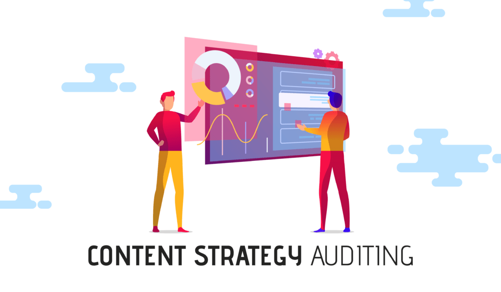 Content Strategy Audit Cover Photo With People Working.