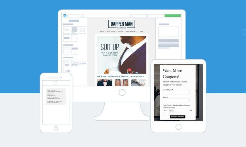 An e-mail marketing tool.