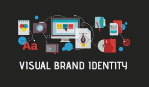 The Many Visual Elements Of A Brand Displayed Together With Post Title.