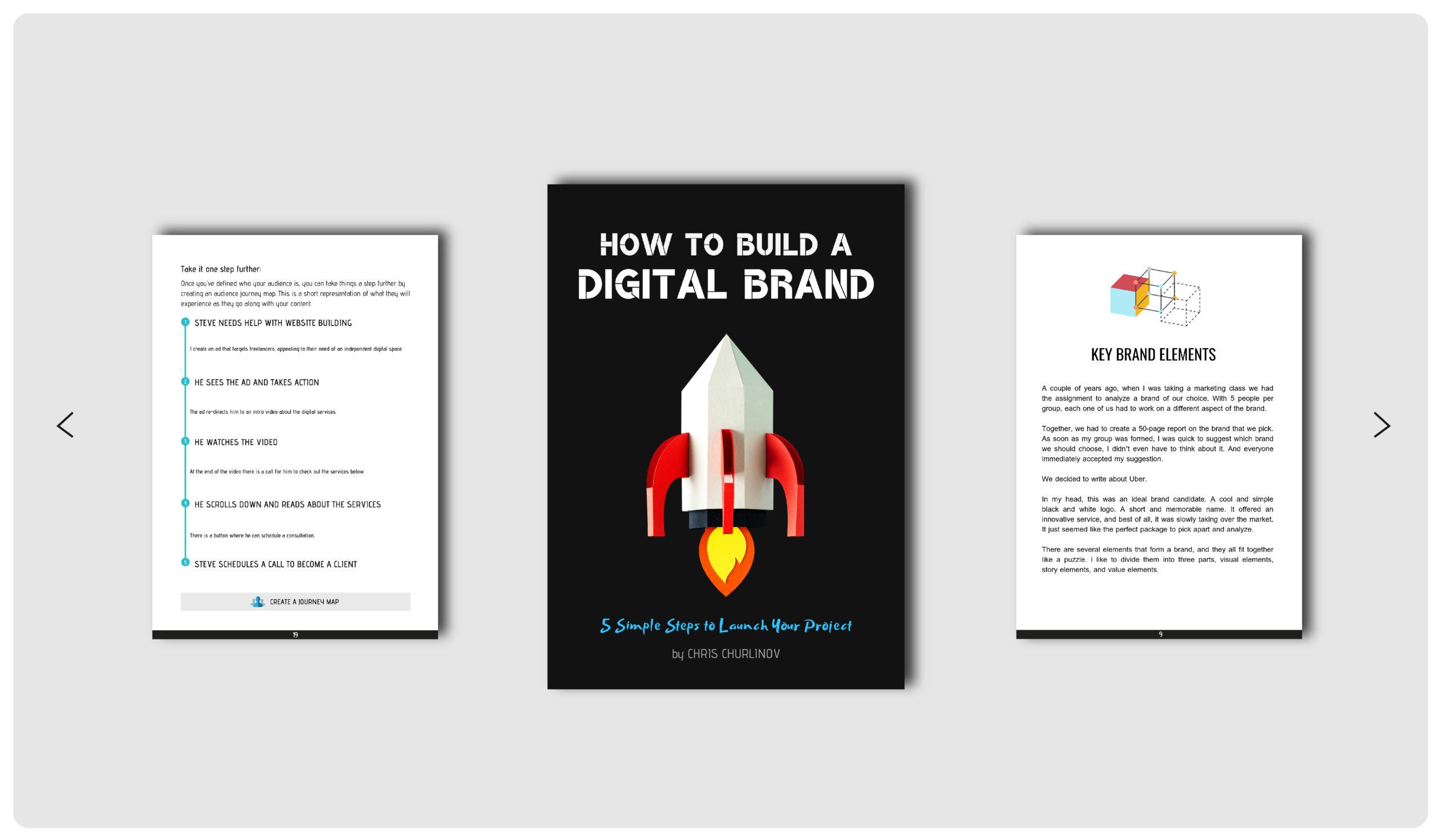 Building A Digital Brand Take A Look Inside The PDF.