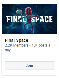 Facebook Join Group Example With Tv Show Group WIth 2K members.