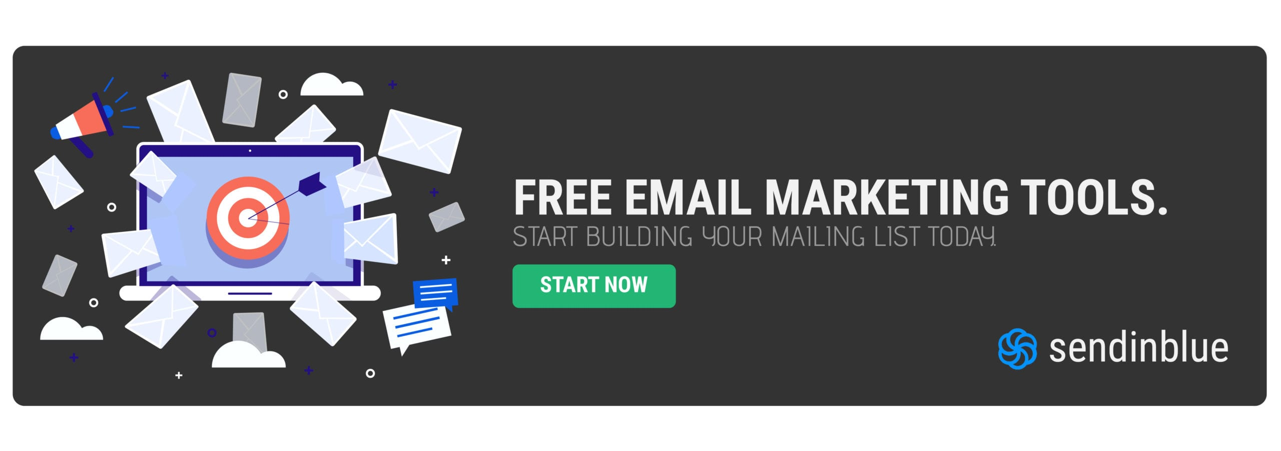 Free Email Marketing Tools - Start building your list today.