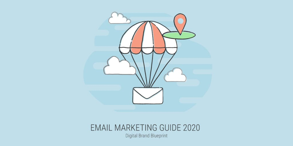 E-mail marketing guide and step by step instructions on how to use email automation in 2020 cover art photo.