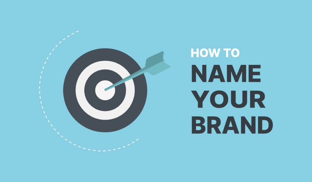 How To Name Your Brand Cover With Text That Features A Target With An Arrow In The center.