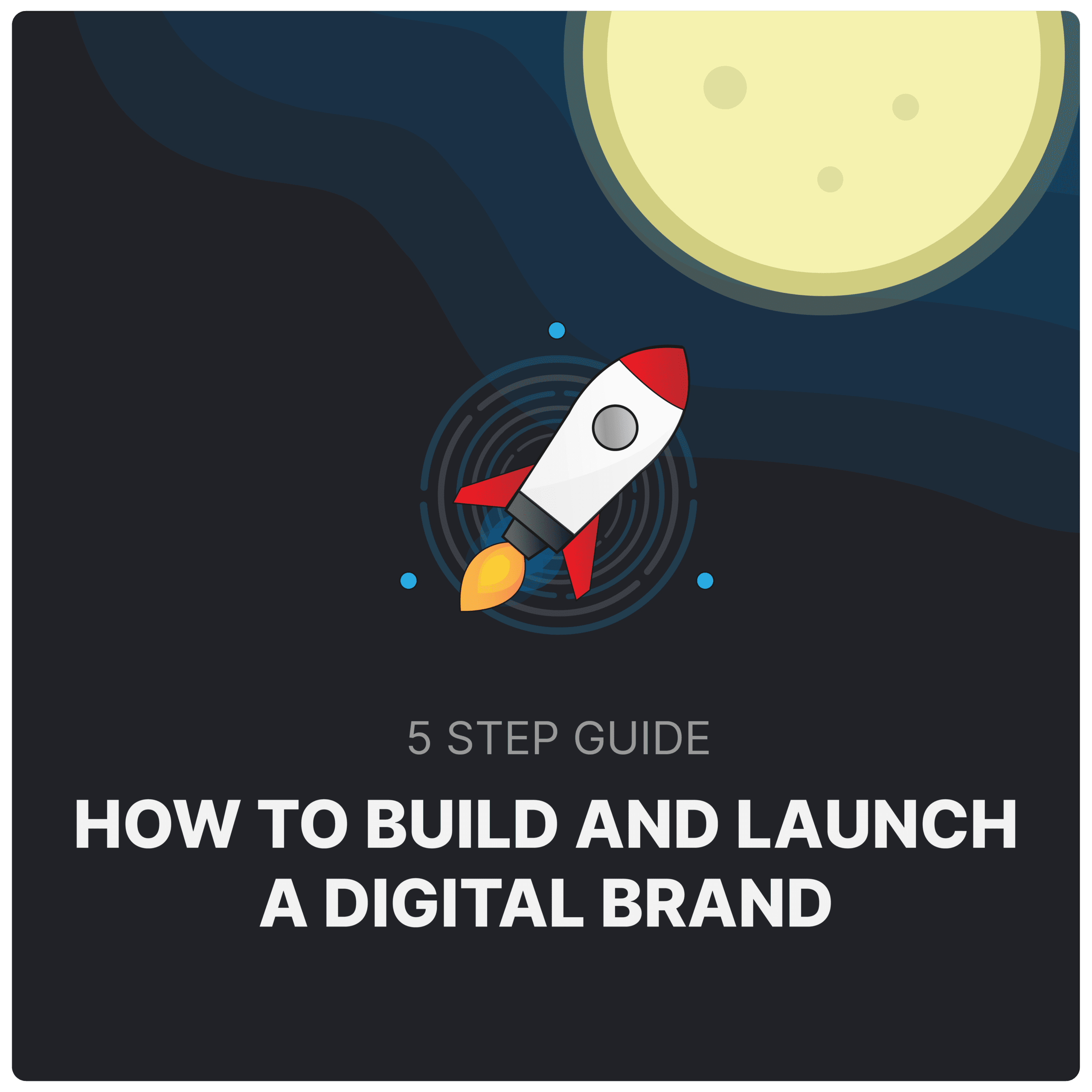 Start building your brand with the simple 5 step guide.