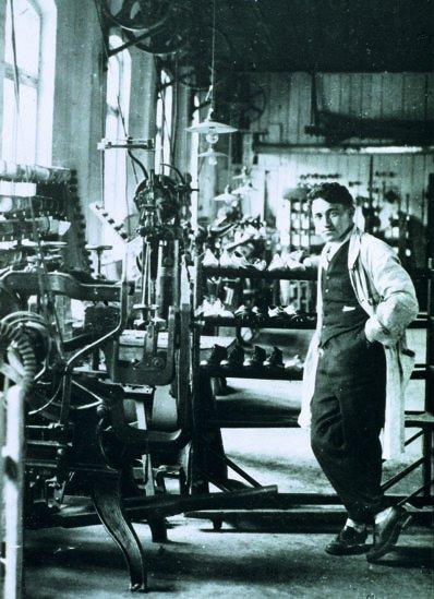 "Adidas founder Adolf ""Adi"" Dassler."