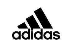 Adidas three stripes logo introduced in 1990.
